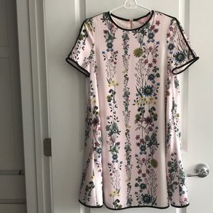 Ted baker one piece floral printed dress